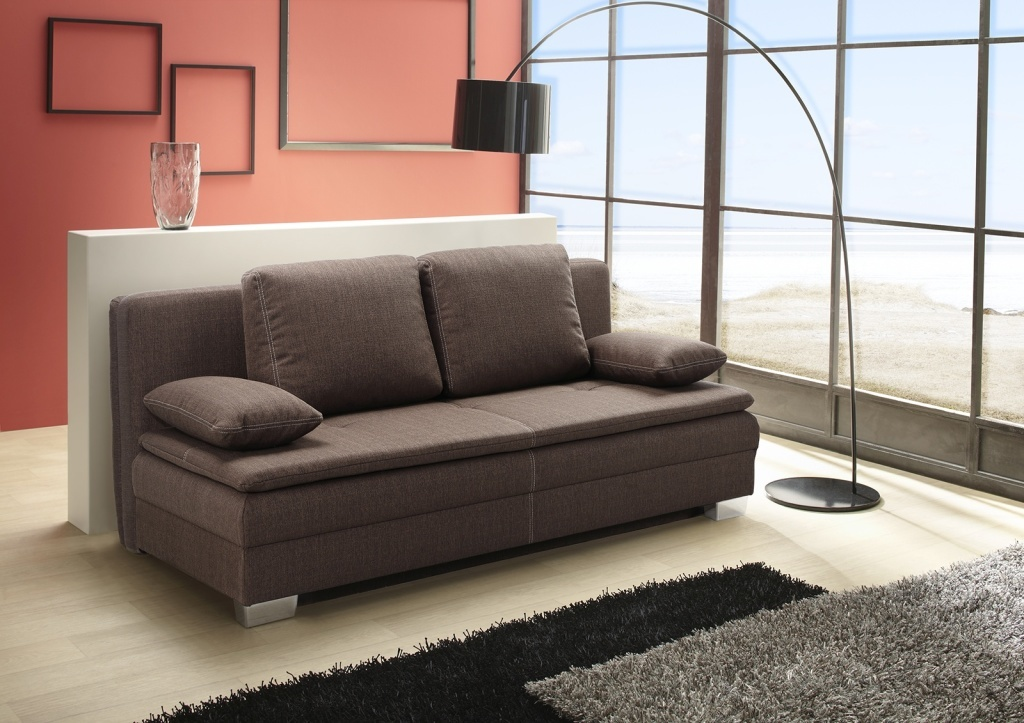 schlafsofa florenz braun sb m bel discount. Black Bedroom Furniture Sets. Home Design Ideas
