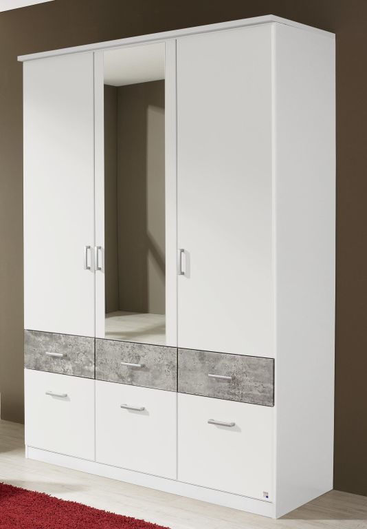 dreht renschrank bremen extra alpinwei stone grey sb m bel discount. Black Bedroom Furniture Sets. Home Design Ideas