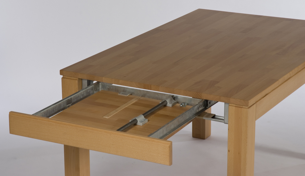 Table extensible 160 x 90 cm toby h tre naturel sb for Table extensible 160 cm