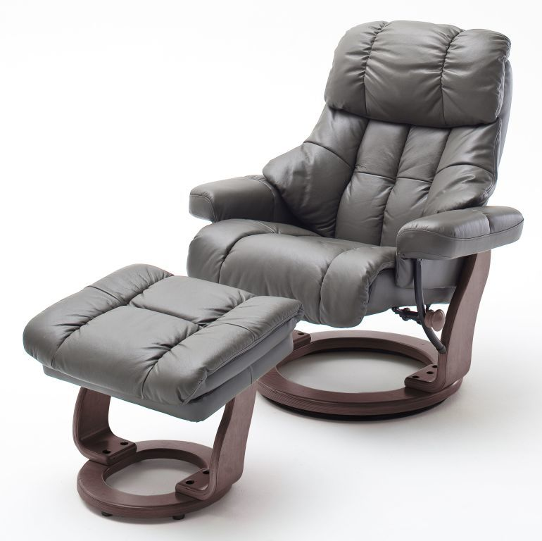 fauteuil relax avec repose pied calgary limon ton noyer. Black Bedroom Furniture Sets. Home Design Ideas