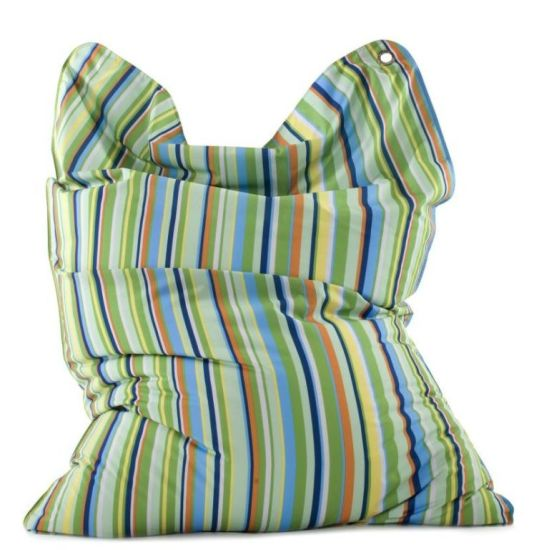 Sitzsack FASHION BULL STRIPES GREEN
