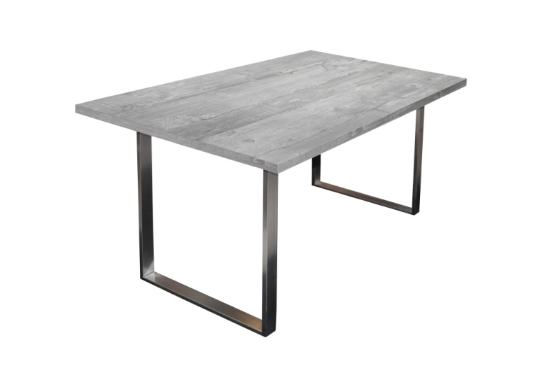 Table de salle à manger 140 x 90 STEEL