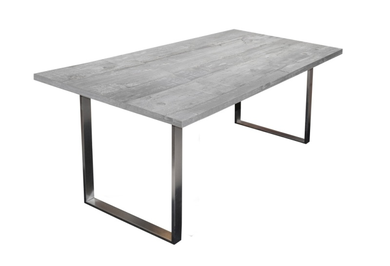 Table de salle à manger 180 x 90 STEEL