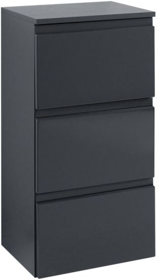 unterschrank 40 cardiff grau graphitgrau sb m bel discount. Black Bedroom Furniture Sets. Home Design Ideas