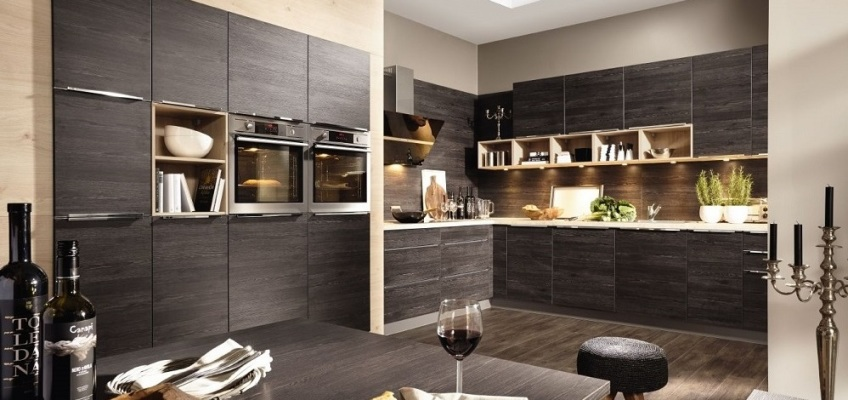 komplette k che kaufen. Black Bedroom Furniture Sets. Home Design Ideas